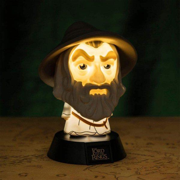 Herr der Ringe Gandalf 3D Lampe Leuchte