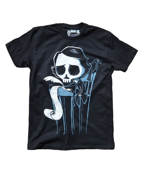 Akumu Ink Loneley Skull Writer Nightmare Herren T-Shirt