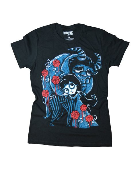 Akumu Ink Misery & the Beast Nightmare Damen T-Shirt