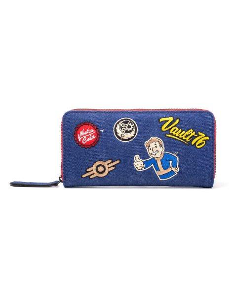 Fallout 76 Nuka Cola Patch Damen Geldbörse Geldbeute Portemonnaie