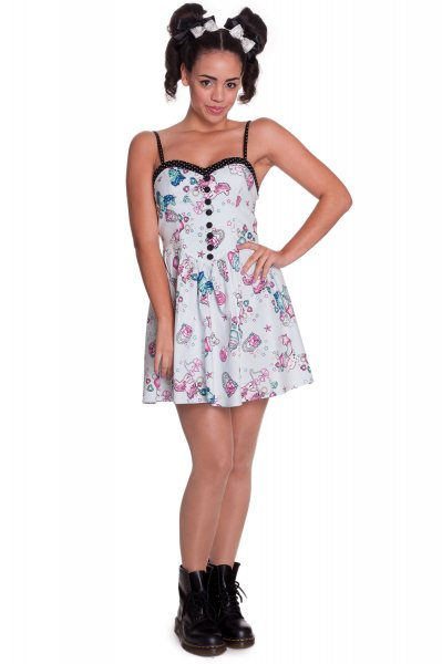 Hell Bunny - Super Sweet 50s Mini Damen Kleid