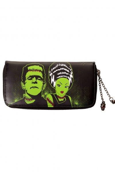 Baned Bride of Frankenstein Damen Geldbörse Portemonnaie