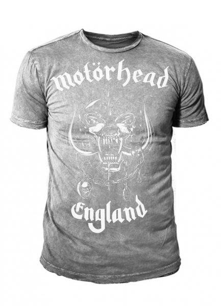 Motörhead England T-Shirt Grau