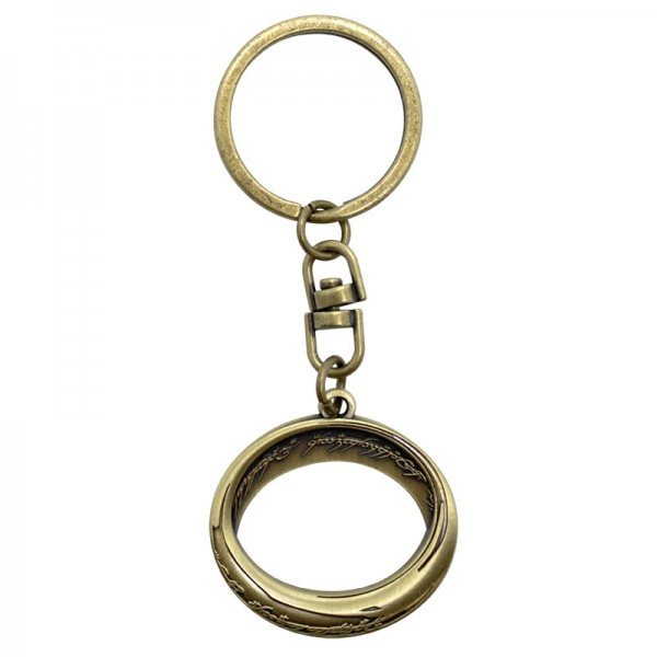 Der Hobbit - Metall Schlüsselanhänger - Der eine Ring