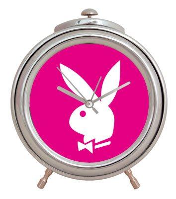 Playboy - Classic Chrom Wecker - Pink