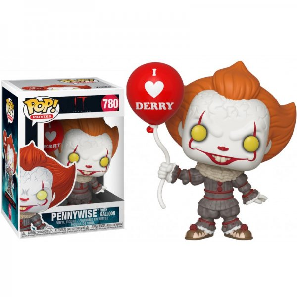 Es 2 Pennywise Clown I Love Derry Funko Pop Vinyl Figur