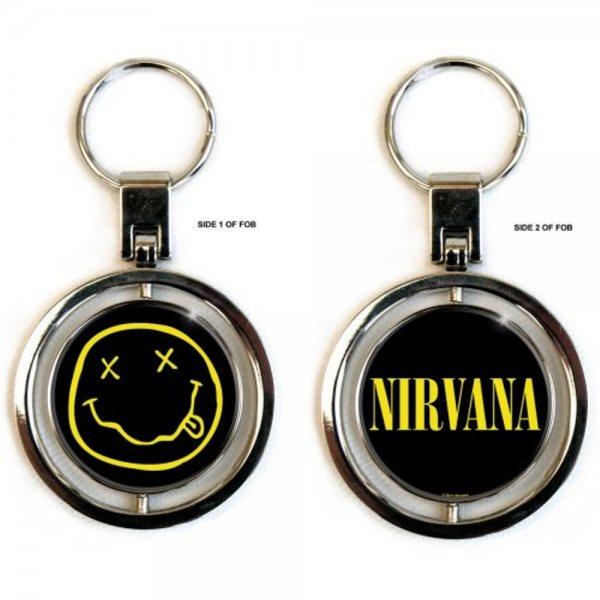 Nirvana Smiley Schlüsselanhänger Spinner