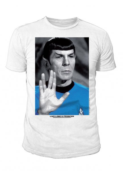 Star Trek - Herren T-Shirt - Live Long & Prosper