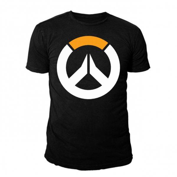Overwatch Logo Herren T-Shirt Schwarz