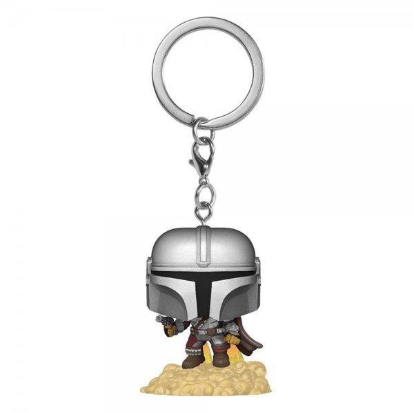 Star Wars The Mandalorian Rocket Funko Pop Schlüsselanhänger