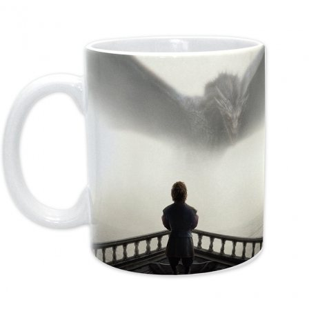Game of Thrones - Tasse - Cover Tyrion & Drachen