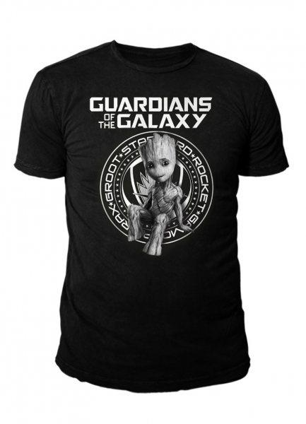 Guardians of the Galaxy Seal Logo T-Shirt