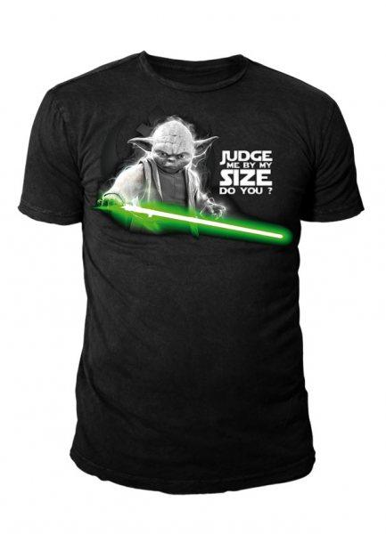 Star Wars - Krieg der Sterne Herren T-Shirt - Yoda Judge Me