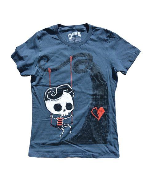 Akumu Ink Forever Waiting Damen T-Shirt