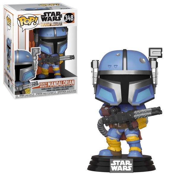 Star Wars The Mandalorian Heavy Infantery Mandaloria Funko Pop Vinyl Figur 348