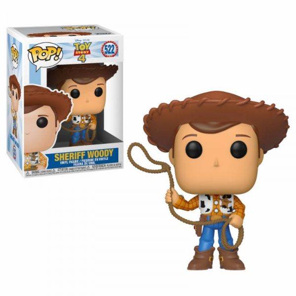 Toy Story 4 Sheriff Woody Funko Pop Vinyl Figur
