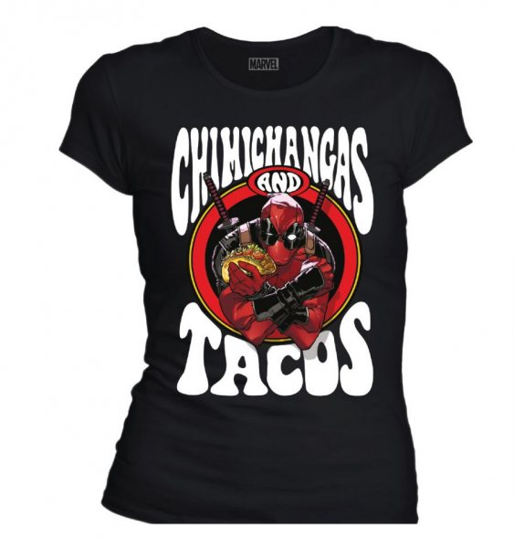 Deadpool Taccos Damen T-Shirt