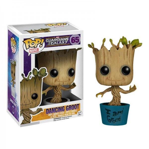 Guardians of the Galaxy I am Groot Funko Pop Vinyl Figur