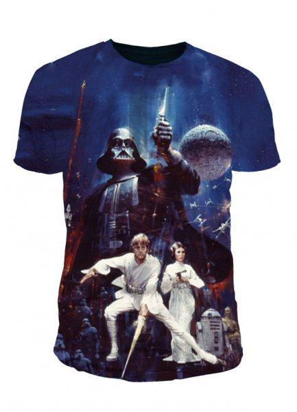 Star Wars - Krieg der Sterne Herren T-Shirt - A New Hope (P)