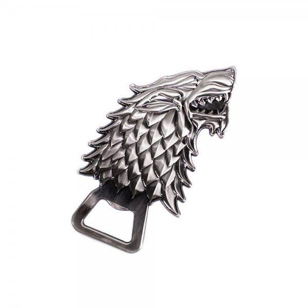 Game of Thrones Stark Schattenwolf Flaschenöffner