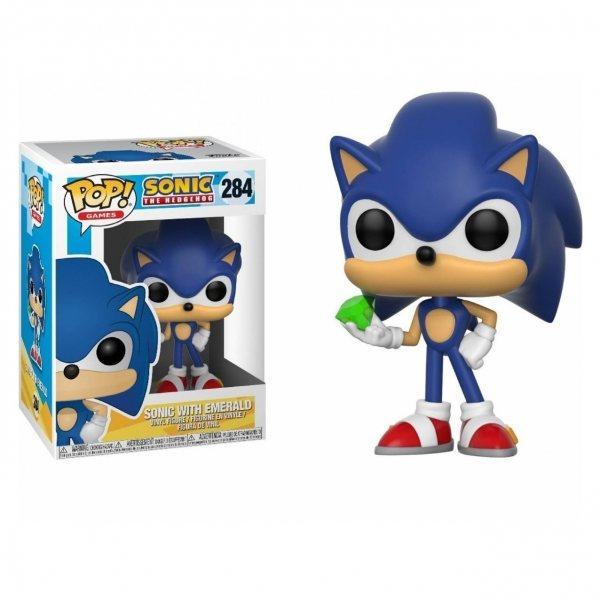 Sonic the Hedgehog Funko Pop Vinyl Figur 284