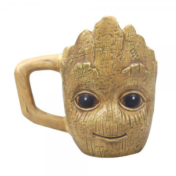 Guardians of the Galaxy 3D Groot Keramik Tasse