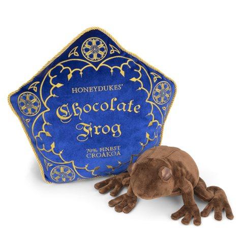 Harry Potter Schokofrosch Kissen Plüschfigur Kuscheltier Noble Collection