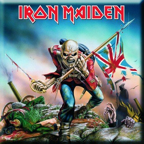 Iron Maiden Trooper Magnet
