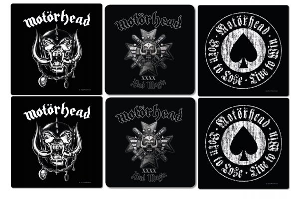 Motörhead Bad Magic Untersetzer Set