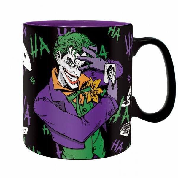 DC Comics Joker Ha Ha Ha Tasse 460 ml in Geschenkbox