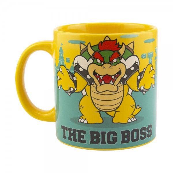Super Mario Bros Bowser XXL Tasse im Geschenkkarton