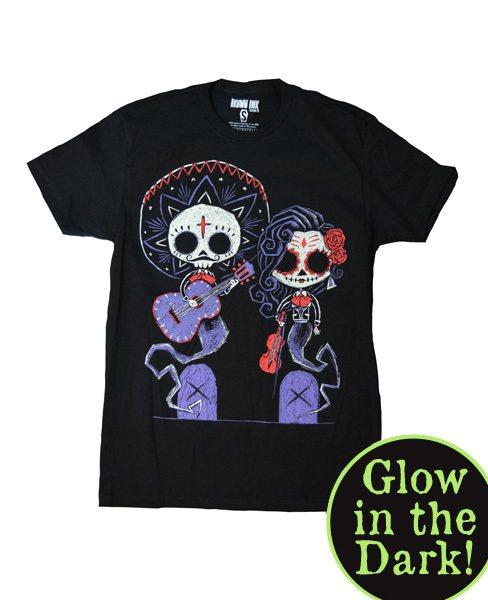Akumu Ink Timeless Party Glow in the Dark Nightmare Damen T-Shirt