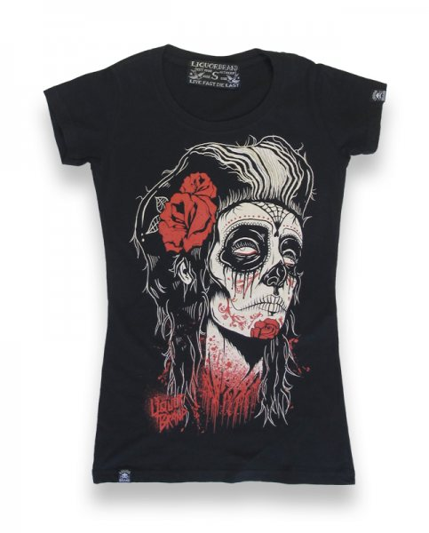 Liquor Brand - Dead Girl Damen T-Shirt