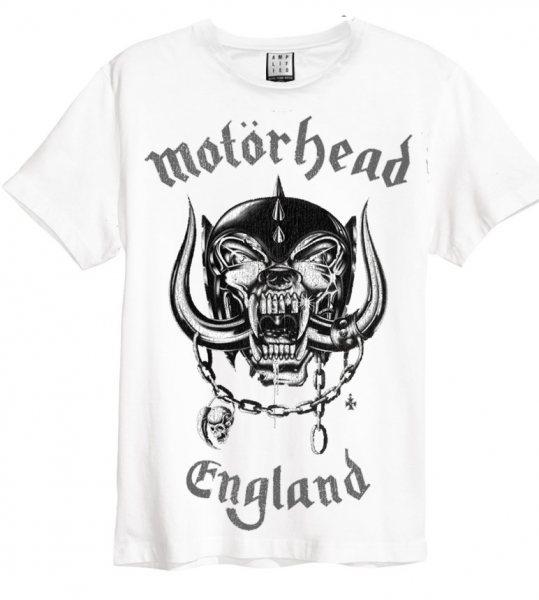 Amplified Motörhead England T-Shirt Weiß