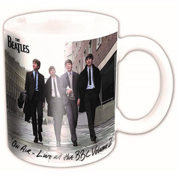 The Beatles On Air BBC Tasse