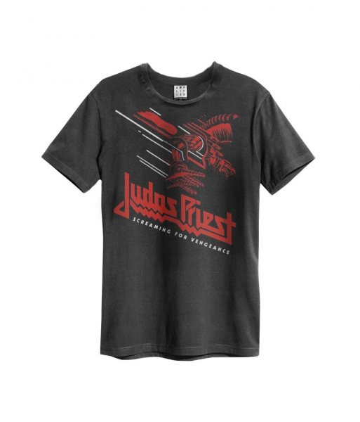 Amplified Judas Priest Screaming for Venegence T-Shirt