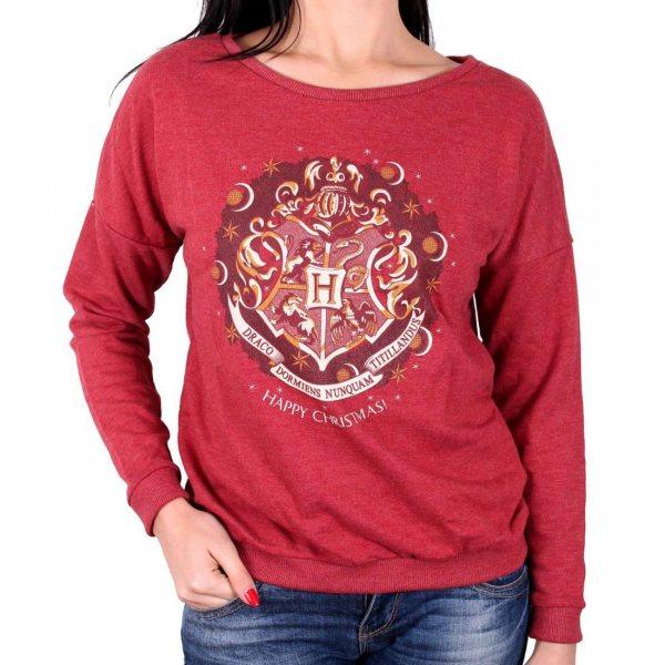 Harry Potter Hogwarts Wappen Pullover Damen