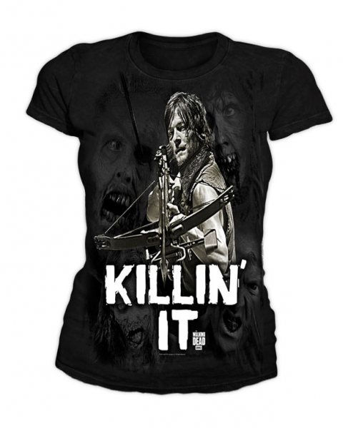 The Walking Dead - Damen T-Shirt - Killin it