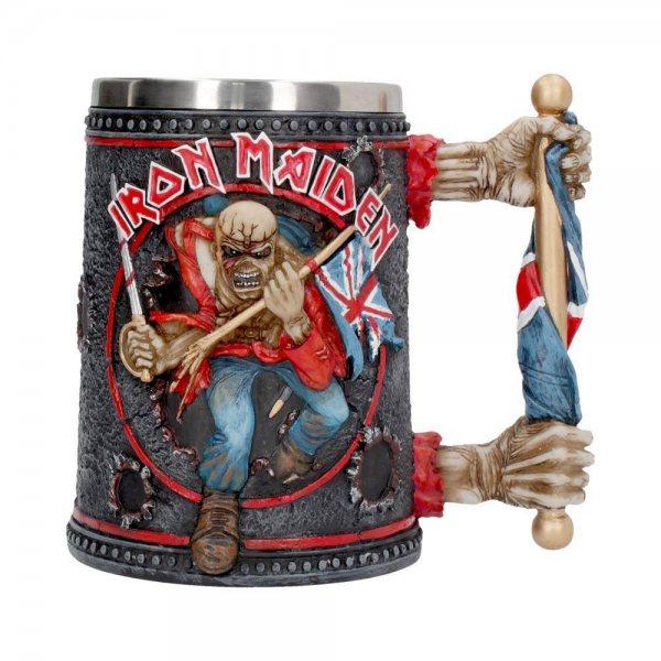 Iron Maiden Trooper Resin Bierkrug Geschenkbox Nemesis Now
