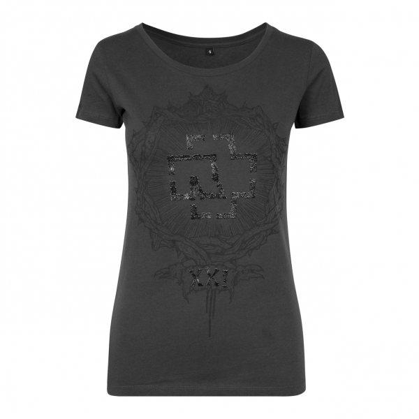 Rammstein XXI T-Shirt Damen Grau