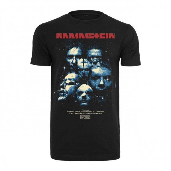 Rammstein Band Shot Herren T-Shirt Schwarz