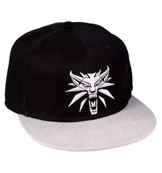 The Witcher 3 Wild Hunt Eredin Logo Flat Base Cap Kappe