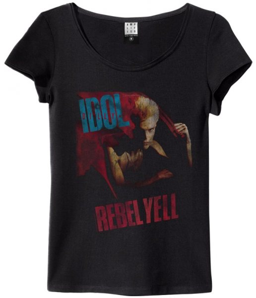 Amplified Billy Idol Rebell Yell Damen T-Shirt