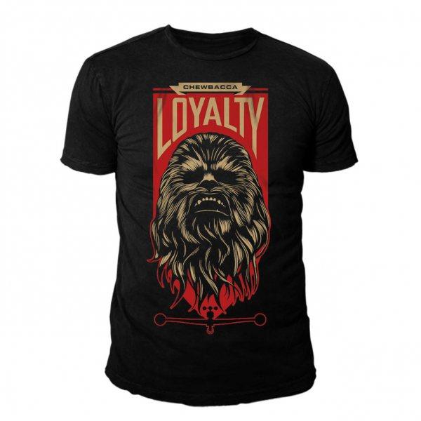 Star Wars Loyalty Chewbacca Herren T-Shirt Schwarz