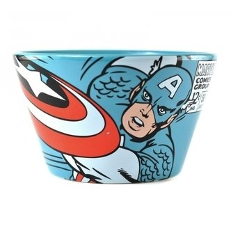 Marvel Comics Captain America Müslischüssel im Geschenkkarton