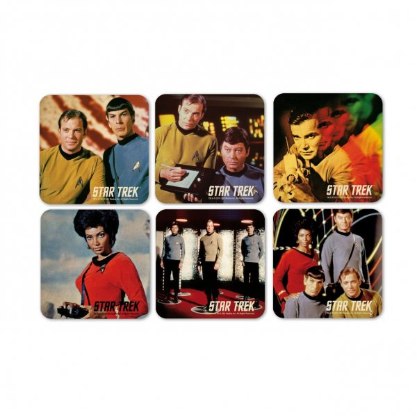 Star Trek Retro Kork Untersetzer 6er Set