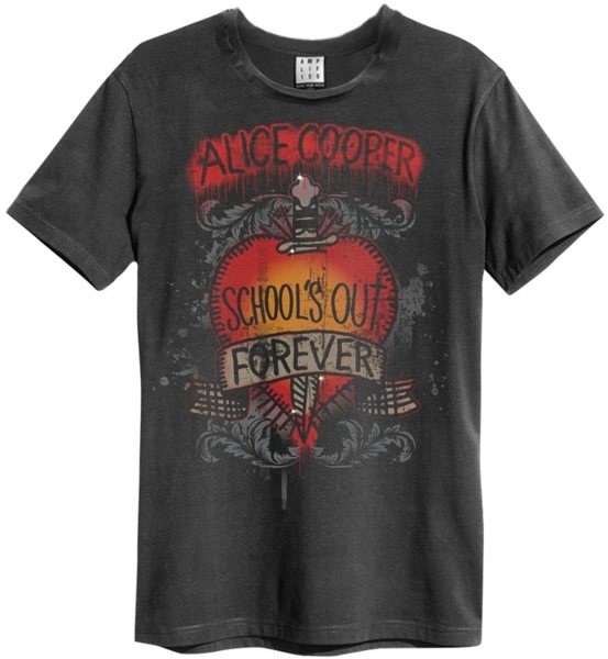 Amplified Alice Cooper Schools Out T-Shirt