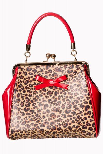 Banned Shirley Leopard Damen Henkeltasche