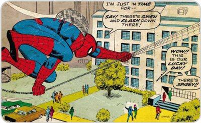 Marvel Comics - Frühstücksbrettchen - Spiderman in Time