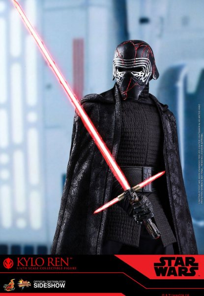 Star Wars Hot Toys Kylo Ren Actionfigur Statue Scale 1/6